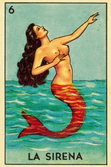 la sirena mermaid folklore red tailfin