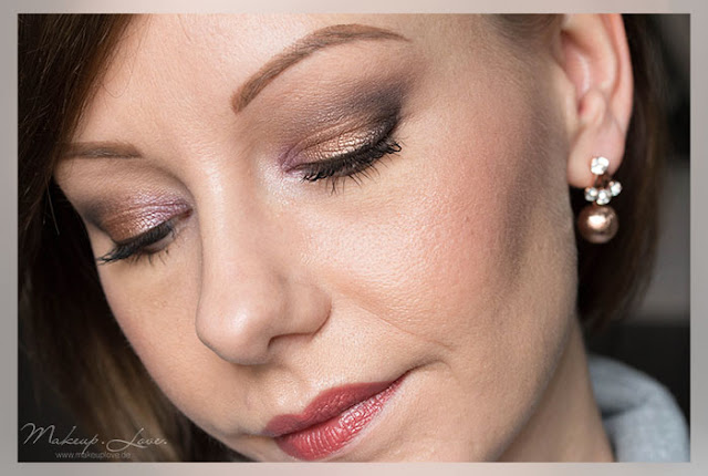 Clinique Lipcolour and Primer | Mocha Pop Review Swatch Tragebild