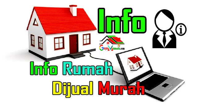 Info Rumah Dijual Murah