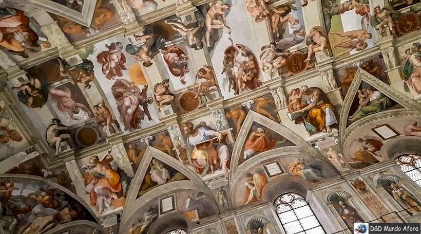 Capela Sistina - Roteiro: 3 dias em Roma