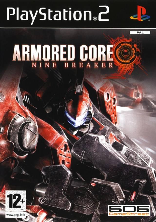 Armored Core Nine Breaker PAL PS2