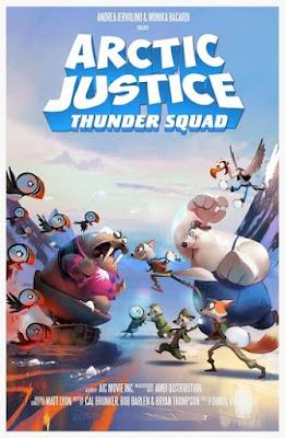 Sinopsis Arctic Justice : Thunder Squad -  Petualangan Seru Si Rubah Salju