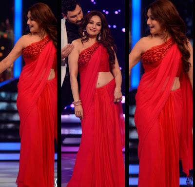 Red Bhagalpuri Saree