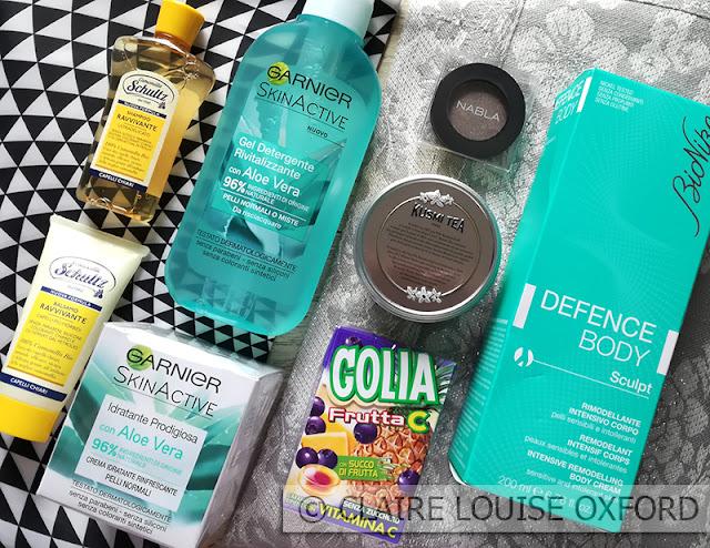 I prodotti del cofanetto MyBeautyBox Giugno 2017 Summer Detox