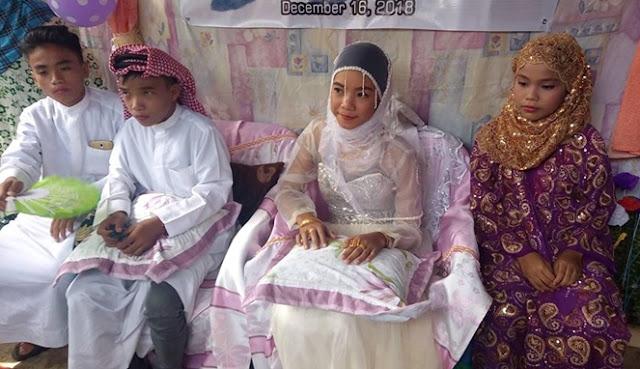 Pernikahan Bocah Viral