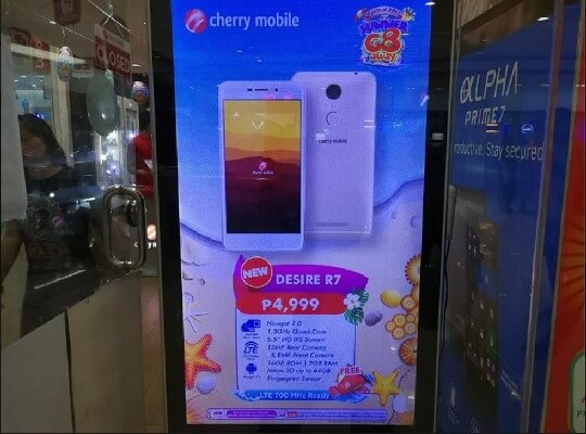 Cherry Mobile Desire R7; Quad Core Android Nougat with 4G/LTE for Php4,999
