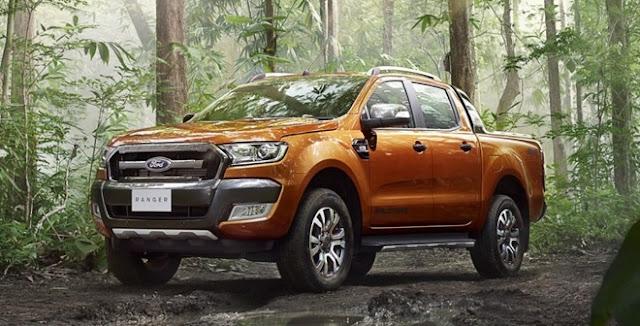 Ford Ranger đối thủ mạnh của các dòng xe bán tải khác