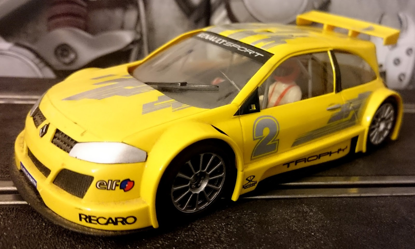 renault megane trophy ninco mi taller scalextric. Black Bedroom Furniture Sets. Home Design Ideas