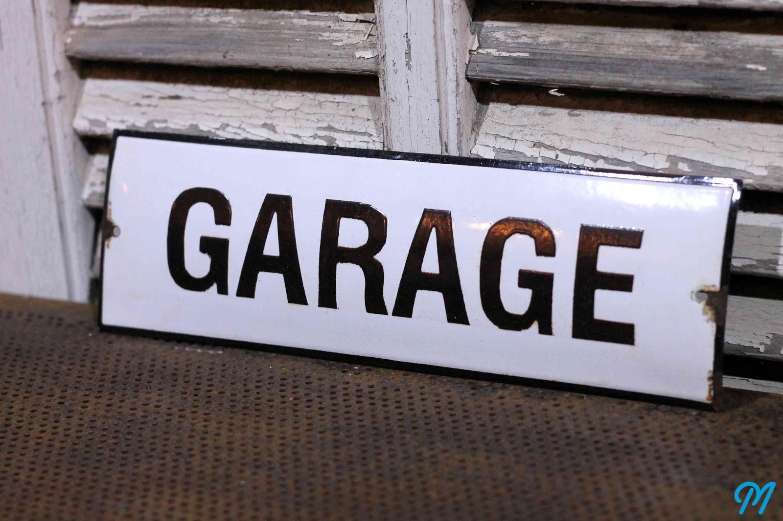 Plaques maill es anciennes enseignes publicitaires for Garage auto lyon