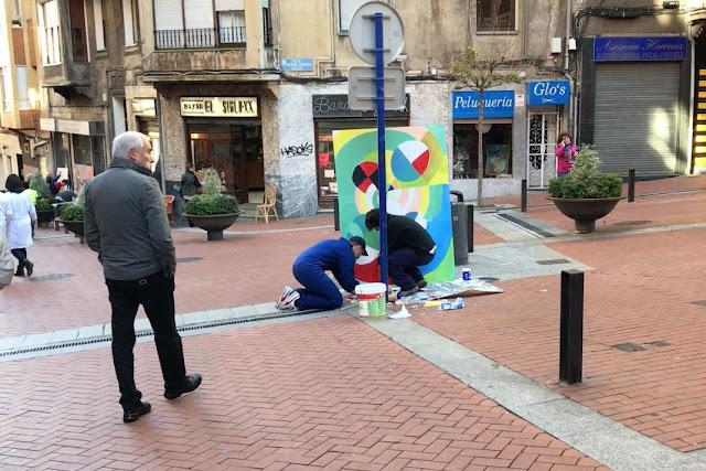 Jornada de promoción de la calle Portu