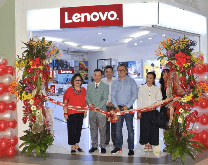 Lenovo opens 20th concept store in PH