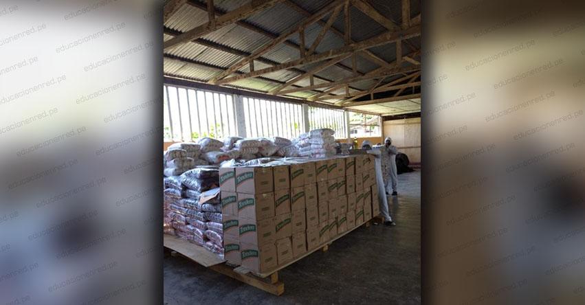 QALI WARMA: Más de mil personas del distrito de Pucayacu en Huánuco recibirán más de 10 toneladas de alimentos - www.qaliwarma.gob.pe