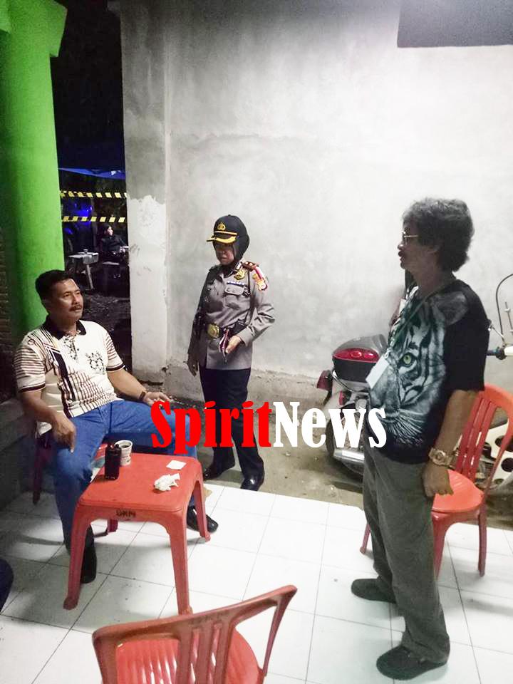 Kapolsek Manggala Menerima Kasatreskrim  Polrestabes Makassar