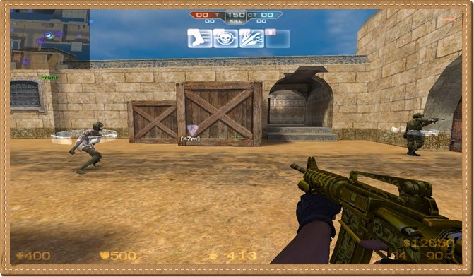 Counter Strike Extreme V7 PC Gameplay