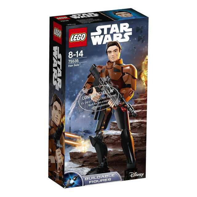 Lego Star Wars Han Solo - Buildable Figure Han Solo (75535)