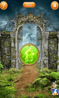 вставляем ключ в замок и открываем ворота