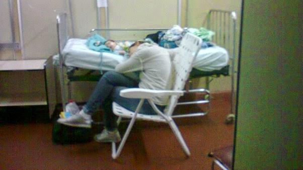 Video De Los Chicos Internados En El Pasillo Del Hospital