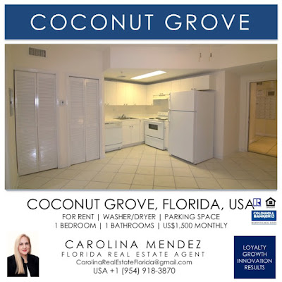 Condo for rent in Coconut Grove 3051 SW 27 Av Apt 105 Coconut Grove Fl 33133