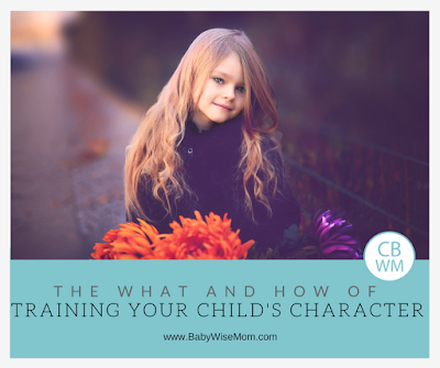 What vs. How of Training Your Child's Character | character training | moral training | #parenting