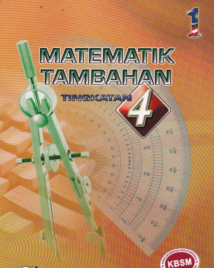 Buku Teks Matematik Tambahan Tingkatan 4 Kssm Jawapan