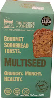 Multiseed Gourmet Sodabread Toasts
