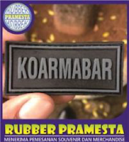 PATCH RUBBER PAKE PEREKAT VELKRO | PATCH RUBBER VELKRO | PATCH RUBBER LABEL