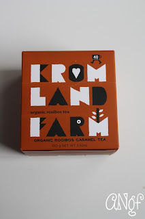 Organic Rooibos Caramel Tea from Kromland Farm | Anyonita-nibbles.co.uk