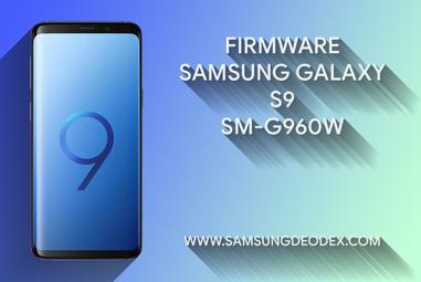 FIRMWARE SAMSUNG G960W