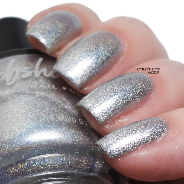 xoxoJen's swatch of kbshimmer Under Pressure