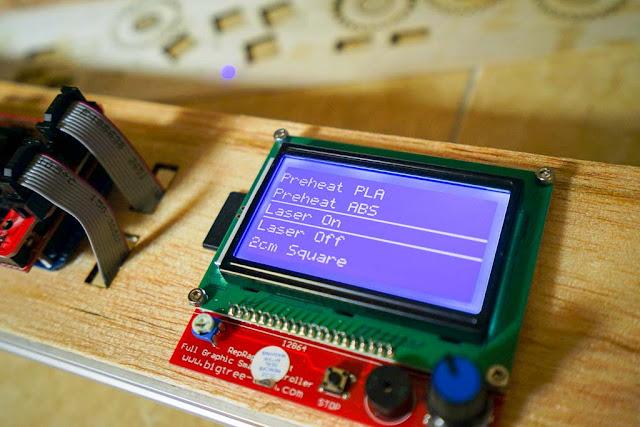 Modul LCD 12864 Full Graphic RepRap Discount Controller dengan Card Reader