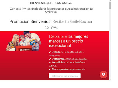 Plan Amigo SmileBox