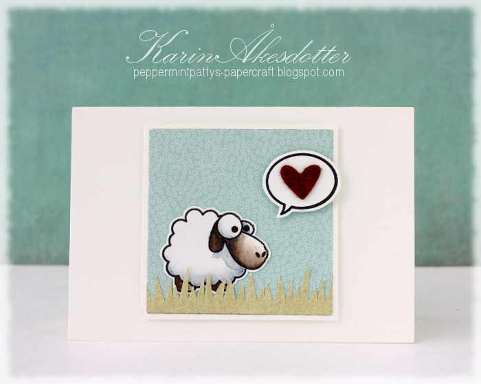 Peppermint Patty S Papercraft Ie 1 March Sheep Love