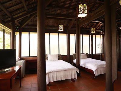 Phòng ngủ - osaka village đà lạt