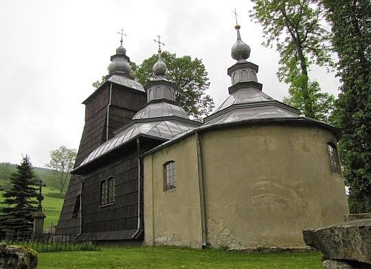 Cerkiew w Chyrowej.