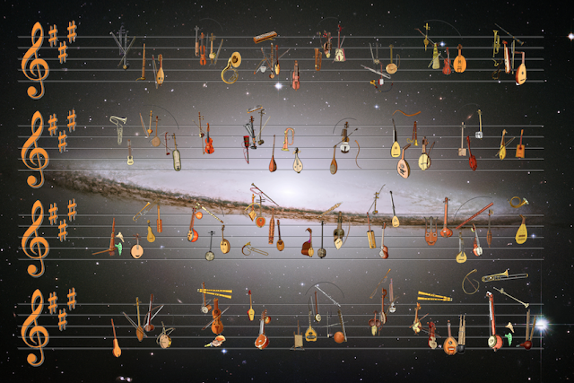 A galaxy of interactive, score-driven instrument model and theory tool animations is born. #VisualFutureOfMusic #WorldMusicInstrumentsAndTheory