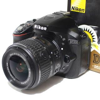 Kamera Nikon D5300 Second Fullset