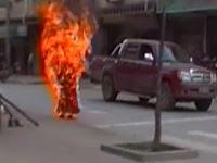 Anak Punk Dibakar Hidup-hidup oleh Kelompok Preman Saat Ngamen di Rumah Makan
