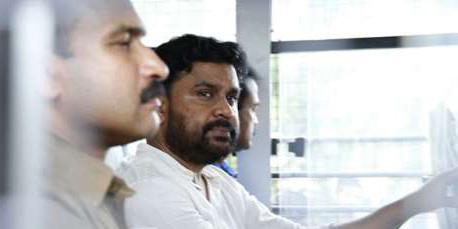 Actor Dileep at trissur for evidence collection