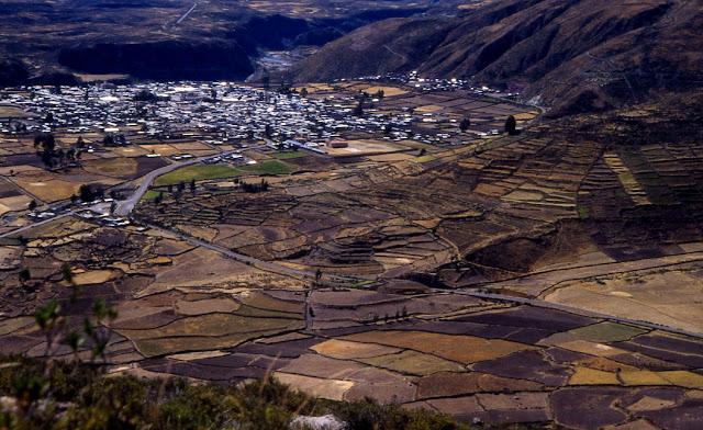 Chivay Pérou
