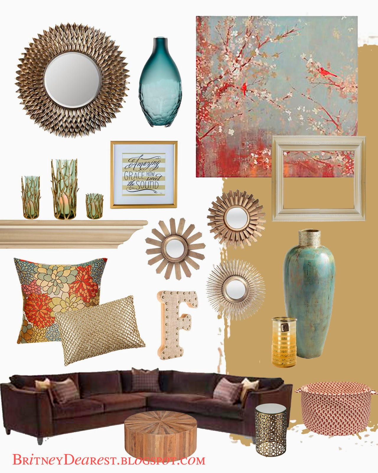 Britney Dearest: Living Room Style Ideas