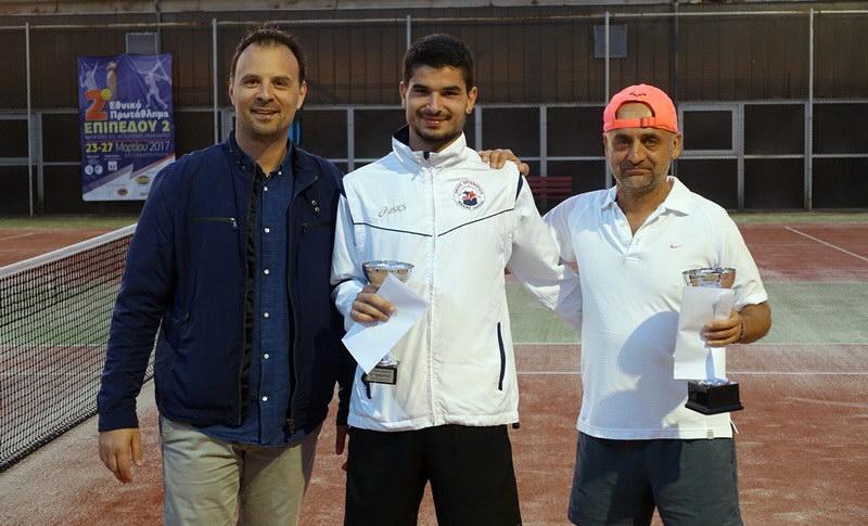 Με επιτυχία πραγματοποιήθηκε στην Αλεξανδρούπολη το 7o Open Τουρνουά Τένις Ανδρών