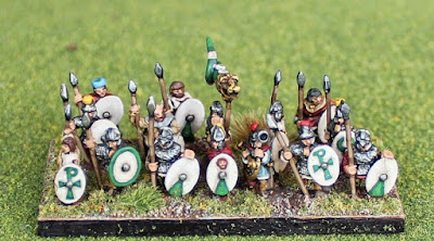 1st place: Roman Shieldwall, by Streetgang - wins £20 Pendraken credit, and 5 painted buildings from Escenografia Epsilon!
