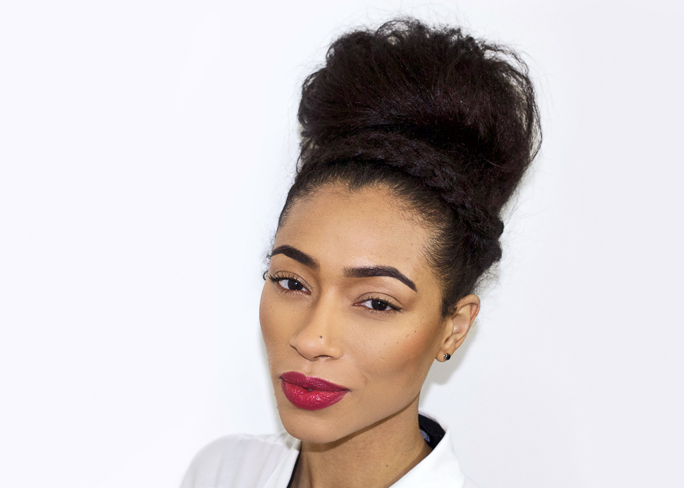 Cool Fresh Lengths Hairstyle Messy Bun With Braided Headband Hairstyles For Women Draintrainus