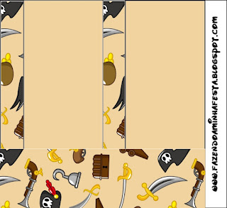 Pirate Party Free Printable Labels.