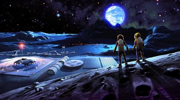 lunar space colony - photo #8