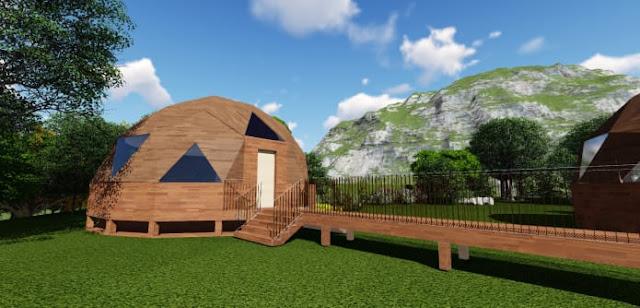 Geovilla in legno