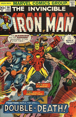 Iron Man #58, Unicorn, Mandarin