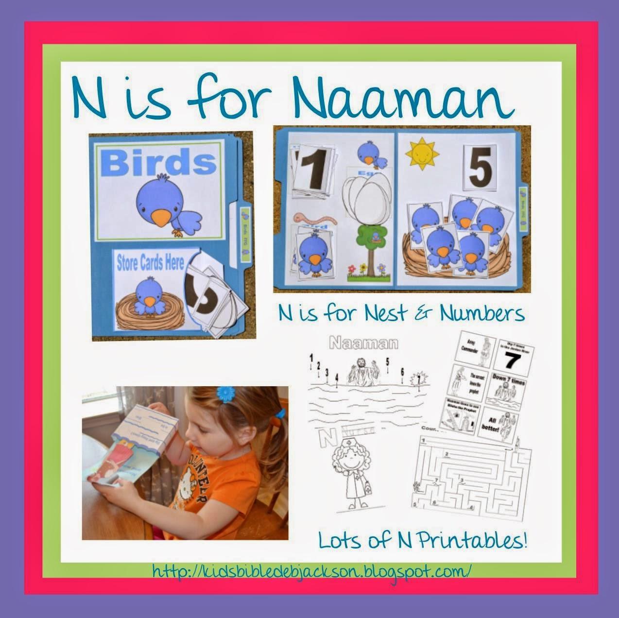 Bible Fun For Kids 3 5 Elisha Helps Naaman