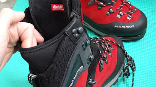 Neoperene in Mammut Boot