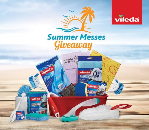 Vileda Summer Messes Giveaway